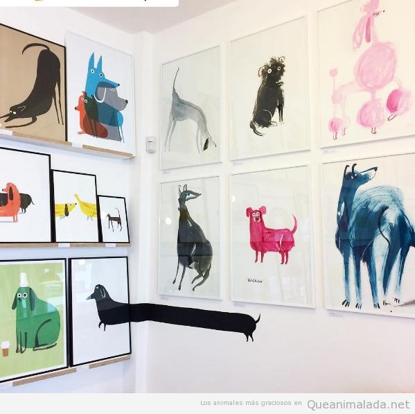ilustraciones animales john bond