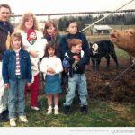 La vaca jodefotos de familia