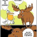 Humor al estilo alce