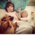 La foto tierna del día: se notan que son hermanos