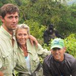 El gorila que sale ridículamente bien en las fotos