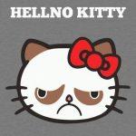 El Grumpy Cat se ha apoderado de Hello Kitty!