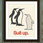 Lo que le dice un pingüino emperador a sus crías…