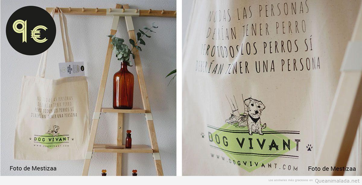 Bolsa solidaria Dog Vivant