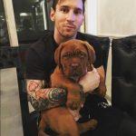 La evolución del perro de Messi en 9 meses... alucinante!