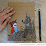 Artistas que hacen preciosos dibujos de animales