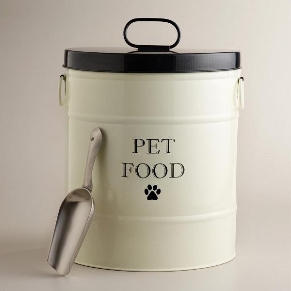 Recipiente comida perros