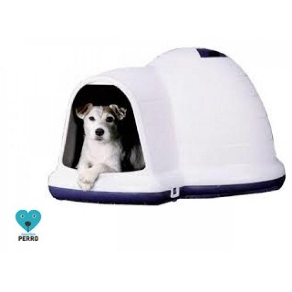 Casa iglú térmico para perros