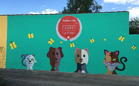 Petjilton, una residencia canina en Sevilla de 5 huellas