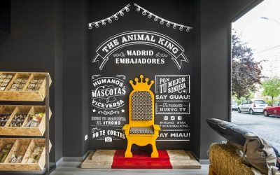 The Animal King, una tienda para animales super cool!