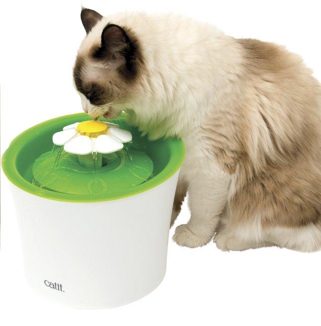 Bebedero fuente gatos 2
