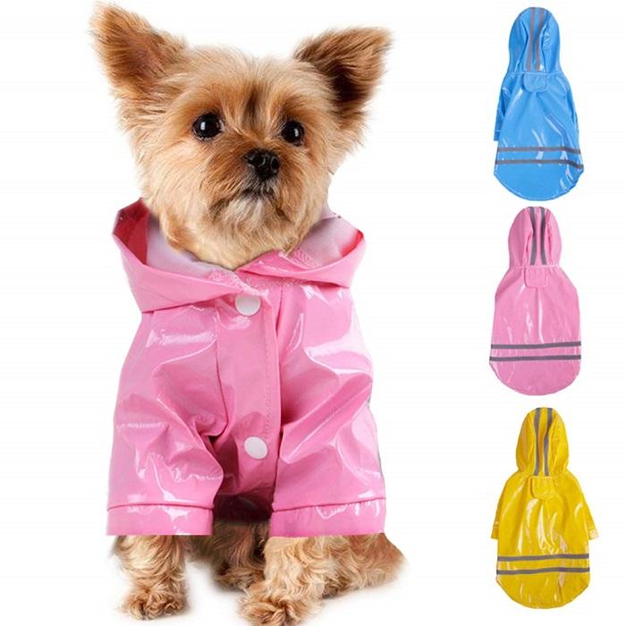 Chubasquero perro charol de colores