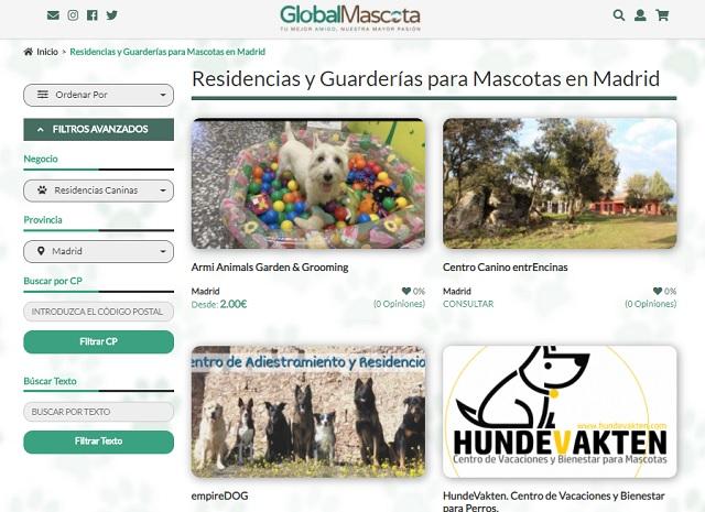 Residencias caninas madrid